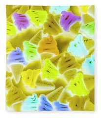 Summer Twist Fleece Blanket