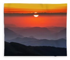 Sun Eye Fleece Blanket