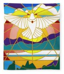Sun Will Rise With Healing Fleece Blanket