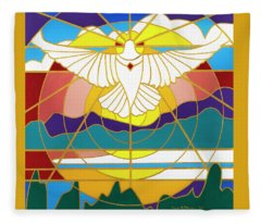 Sun Will Rise With Healing Fleece Blanket