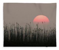 Sundown Fleece Blanket
