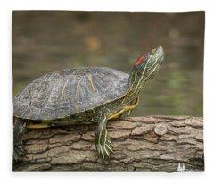 Sunning Slider Fleece Blanket