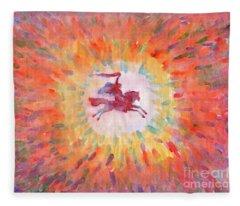 Sunny Rider Fleece Blanket