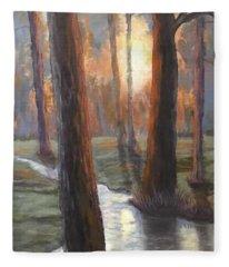 Sunrise Creek Fleece Blanket