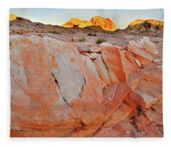 Sunrise On Valley Of Fire State Park Fleece Blanket