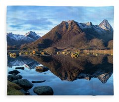 Sunrise Reflections Fleece Blanket