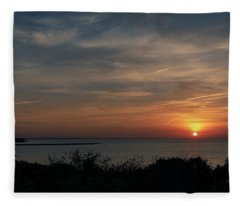 Sunset #3 Fleece Blanket