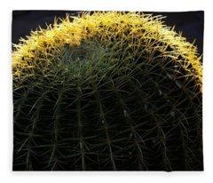 Sunset Cactus Fleece Blanket