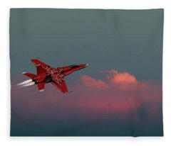 Sunset Flight Fleece Blanket