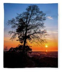 Sunset - Monte D'oro Fleece Blanket