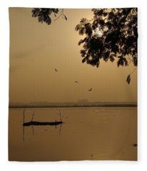 Sunrise Fleece Blankets