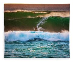 Sunset Ride Fleece Blanket