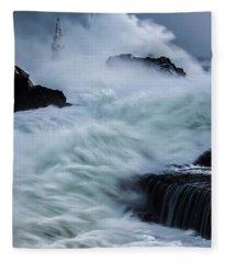Swallowed By The Sea Fleece Blanket