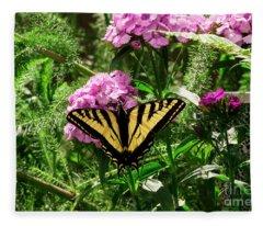 Swallowtail 2 Fleece Blanket
