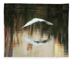 Swamp Angel Fleece Blanket