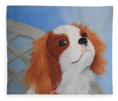 Sweet Lily Fleece Blanket