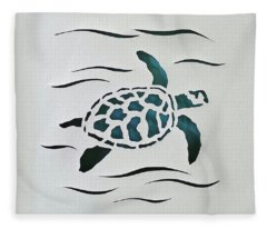 Swimmer Fleece Blanket