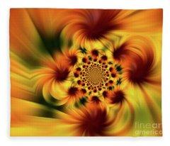 Swirling Imagination Fleece Blanket