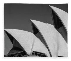 Sydney_opera Fleece Blanket