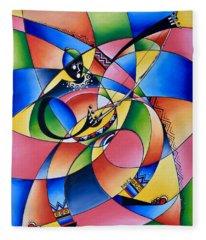 Symmetry Fleece Blanket