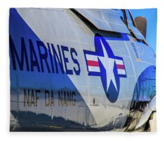 T-28b Trojan Fleece Blanket
