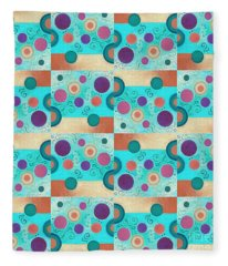 T J O D 50 Arrangement 2 Inverted Fleece Blanket