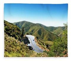 Take The High Road Fleece Blanket