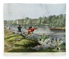 Taking A Fly Fleece Blanket