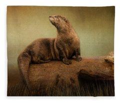 Taking In The View Fleece Blanket