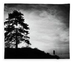 Taking Photographs Fleece Blanket