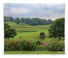 Taliesin Landscape Fleece Blanket