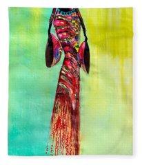 Tall Lady Fleece Blanket