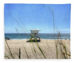 Tamarack Beach Fleece Blanket