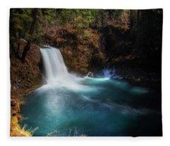 Tamolitch Falls Fleece Blanket