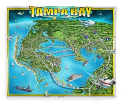 Tampa Bay 2019 Fleece Blanket