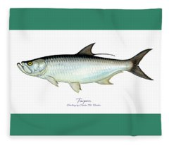 Tarpon Fleece Blanket