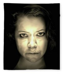 Tatiana Maslany Fleece Blanket