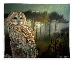 Tawny Moon Fleece Blanket