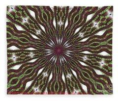 Tazed Eyes Fleece Blanket