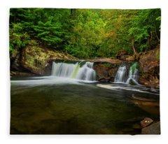Tellico River Baby Falls Fleece Blanket