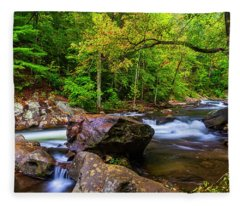 Tellico River Serenity Fleece Blanket