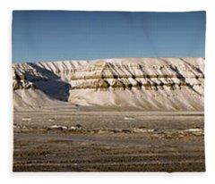Tempelfjord Svalbard Fleece Blanket