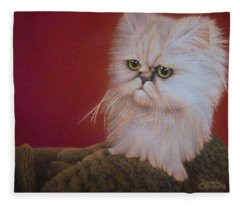 Tempest In A Teacup Fleece Blanket