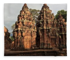 Temple Dusk Fleece Blanket