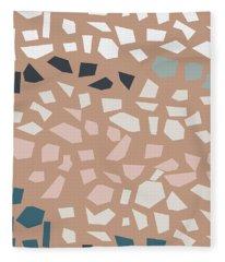 Terrazzo 4- Art By Linda Woods Fleece Blanket