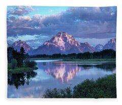 Teton Oxbow Morning 9087 Fleece Blanket