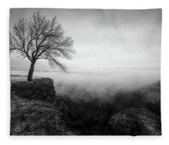 Thacher Scenic Overlook Fleece Blanket