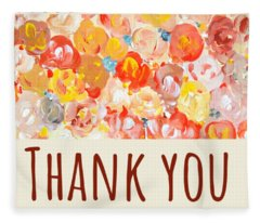 Thank You #2 Fleece Blanket