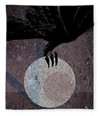 The Abduction Of The Moon Fleece Blanket