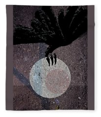 The Abduction Of The Moon Fleece Blanket
